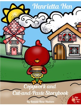 Henrietta Hen Copywork and Cut-and-Paste Storybook