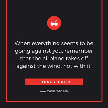 Henry Ford Quote for the Classroom