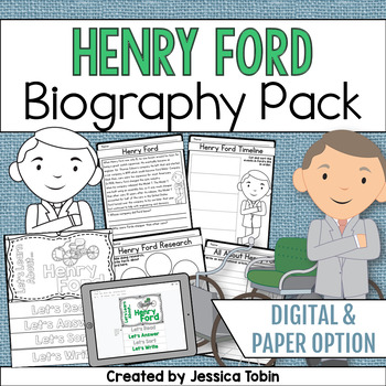 Henry Ford Biography Pack