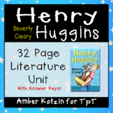 Henry Huggins Literature Guide (Common Core Aligned)