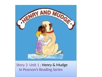 "2nd grade  story1. 3 ""Henry & Mudge ""words"
