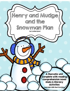 Henry & Mudge and the Snowman Plan {novel study and litera