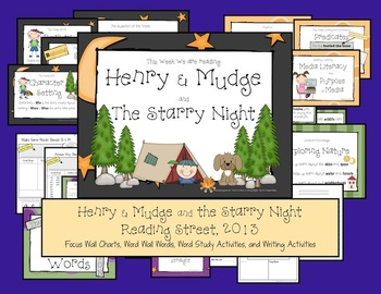 Henry & Mudge and the Starry Night - Reading Street, 2013,