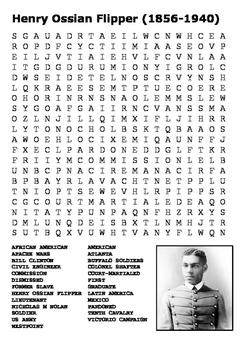 Henry Ossian Flipper Word Search