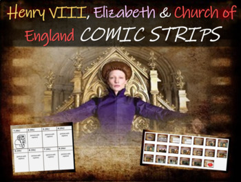 Henry VIII, Elizabeth & the Church of England: engaging Co