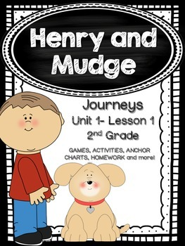 Henry and Mudge Journeys 2nd Grade (Unit 1 Lesson 1) Suppl