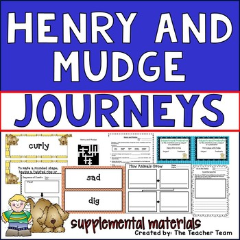 Henry and Mudge Journeys Second Grade Supplemental Materials