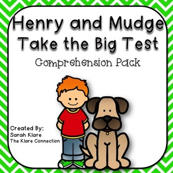 Henry and Mudge- Take the Big Test {Comprehension Pack}