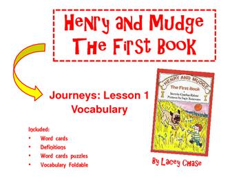Henry and Mudge, Vocabulary