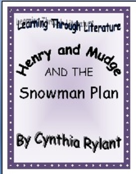 Henry and Mudge and the Snowman Plan, 15 Reading Comprehen