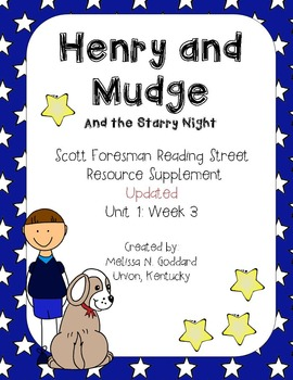 Henry and Mudge and the Starry Night : Reading Street Scot