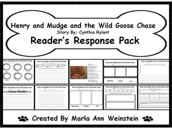 Henry and Mudge and the Wild Goose Chase Reader's Response Pack