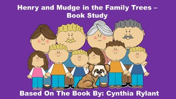 Henry and Mudge in the Family Trees - Book Study