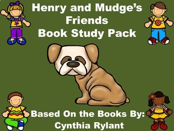 Henry and Mudge's Friends Book Study Pack