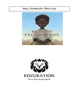 Henry's Freedom Box Ellen Levine Caldecott Common Core Rea