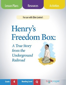 Henry's Freedom Box Lesson Plans & Activities Package,Thir