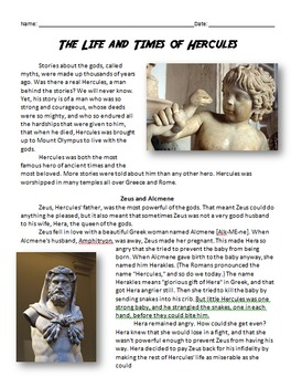 Hercules, His Life and Times - Ancient Greek Myths