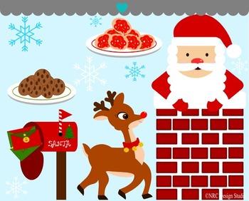 Here Comes Santa Clip Art