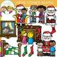 Here Comes Santa Christmas Clip Art