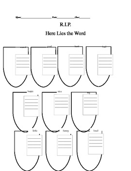 Here Lies the Word