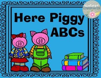 Here Piggy ABCs