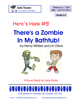 Here's Hank 5- There's a Zombie in my Bathtub by Henry Win