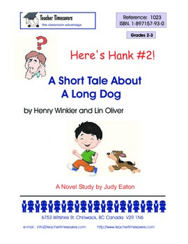 Heres Hank 2- A Short Tale About a Long Dog by Henry Winkl