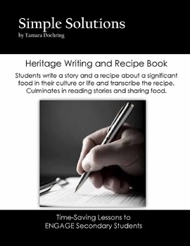 Heritage Story and Recipe Book