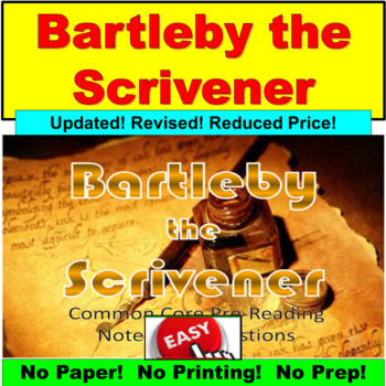 "Herman Melville's ""Bartleby the Scrivener"" : Common Core,"