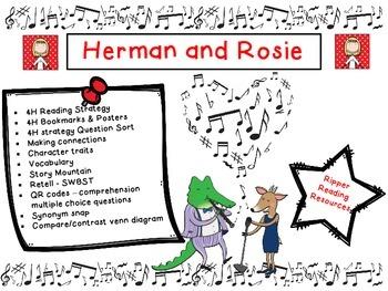 """Herman and Rosie"" reading comprehension activities"