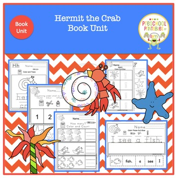 Hermit  the Crab by Eric Carle - Book Unit