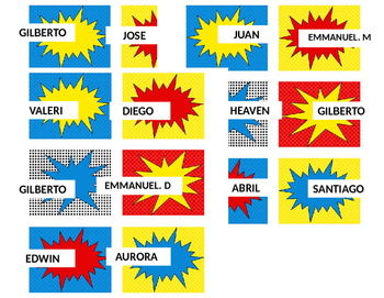 Hero theme labels