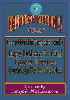 Heroes Comprehension Foldable Bundle