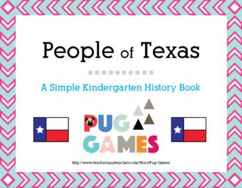 Heroes of Texas: A Kindergarten Texas History Book