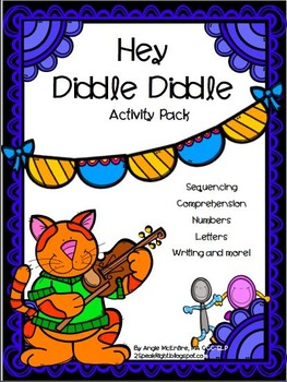 Hey Diddle Diddle Activity Pack