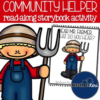 Community Helper Storybook for Early Elementary Career Education