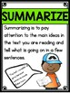 Hey, That's My Monster - Summarize and Comment Comprehensi
