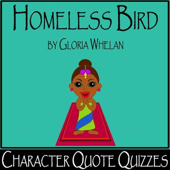 Homeless Bird by Gloria Whelan - Differentiated Character