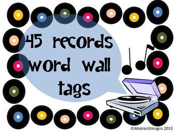 Hi-Fi Sounds Word Wall Tags