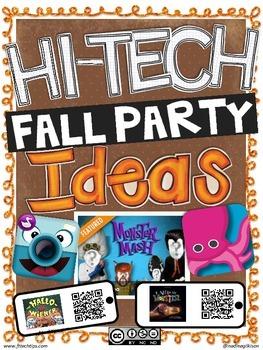 Hi Tech Fall Party Ideas