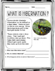Hibernation Nonfiction Passages