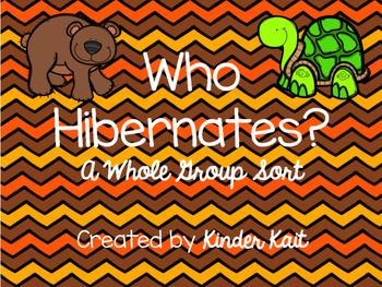 Hibernation Sort {Whole Group}
