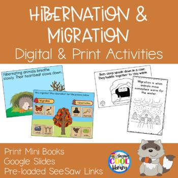 Hibernation and Migration Mini Books