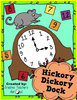 Hickory Dickory Dock Activity
