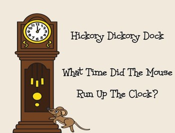Hickory Dickory Dock Clock Time