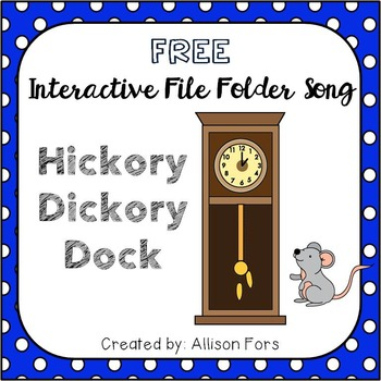 Hickory Dickory Dock Interactive Song