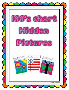 Hidden Picture 100's Chart Variety Pack