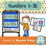 Numbers 1-30: January-June