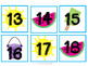 Hidden Picture Numbers 1-30: July-December