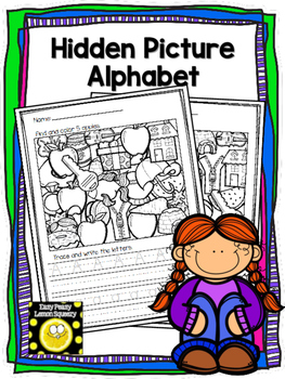 Hidden Pictures/Trace and Write ABC